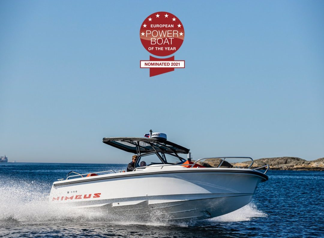 Nimbus T8 Powerboat of the year